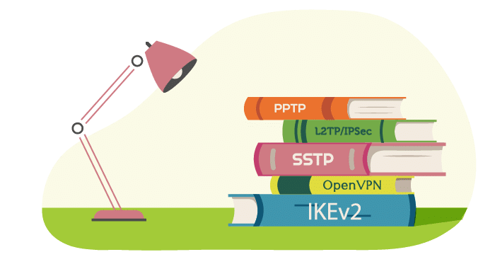 De 5 meest voorkomende VPN-protocollen uitgelegd